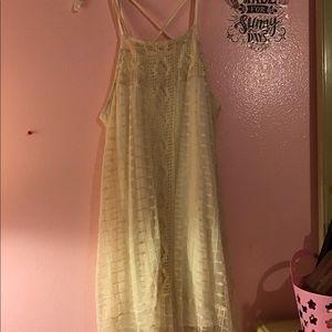 American rage beige boho dress
